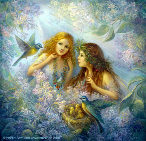 fairy angel painting - fantasy Photo