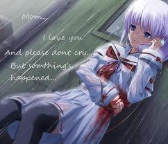 Sad Anime Images Girl Telling Mom Something Wallpaper And