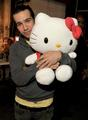 hello kitty & petty - pete-wentz photo