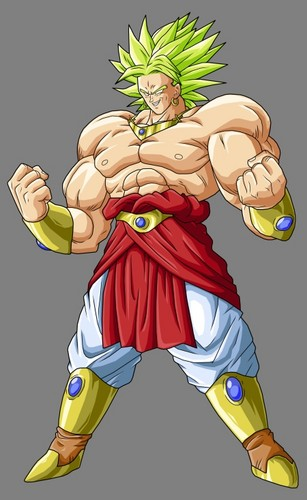 lssj broly - dragon-ball-z Photo