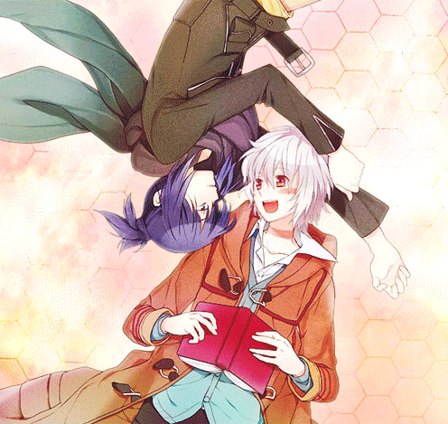 No.6 wallpaper with anime titled nezumi x shion