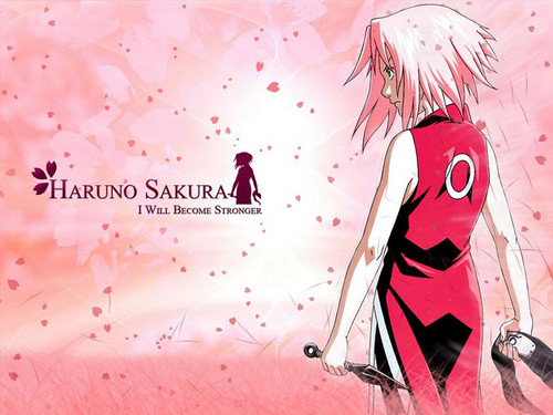 anime naruto all character wallpaper entitled sakura haruno
