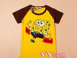 spongebob рубашка