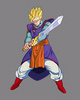 Dragon Ball Z images ssj gohan (z sword) photo
