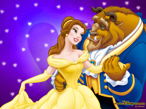 Beauty and the Beast wallpaper possibly with anime titled twilightrosefan