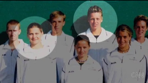 young Safarova and Berdych