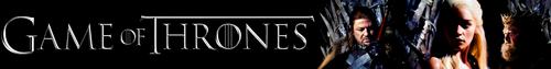 'Game Of Thrones' Banner