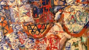 A peice of Stuart's artwork