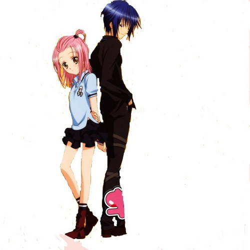 Amu and Ikuto Render