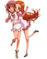 Amu and Yua Render