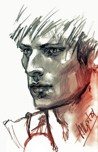 Arthur Pendragon Sketch