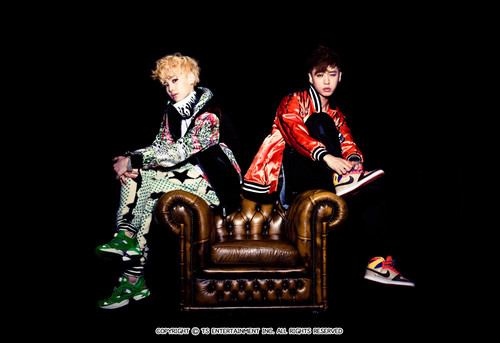 K-pop 4Ever wallpaper containing a throne entitled Bang & Zelo