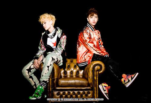 K-pop 4Ever wallpaper titled Bang & Zelo