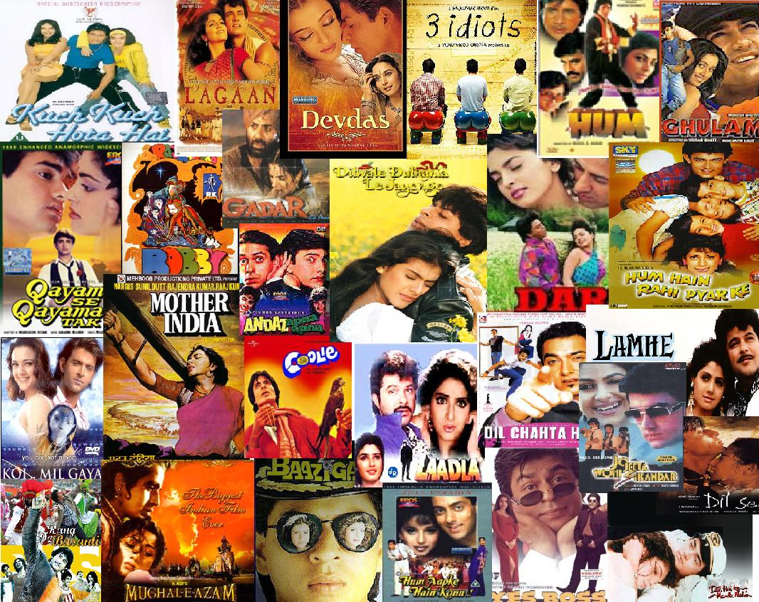 Bollywood Bollywood Poster Collage