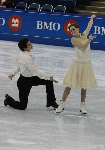 Tessa Virtue & Scott Moir wallpaper titled Canadian Championships 2009