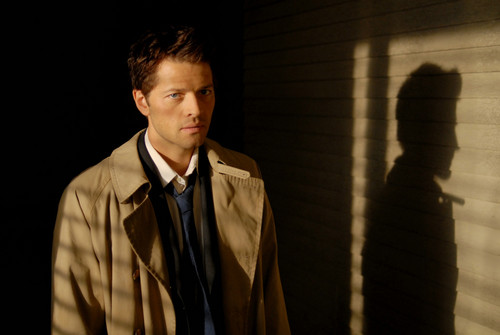 Castiel wallpaper probably with a business suit called Castiel