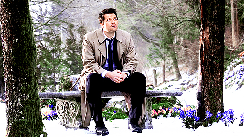 Castiel wallpaper with a business suit called Castiel