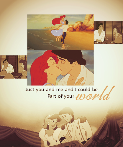 Disney Princess wallpaper titled Couple ~ ♥