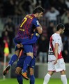 David Villa - FC Barcelona (4) v Rayo Vallecano (0) - La Liga - david-villa photo
