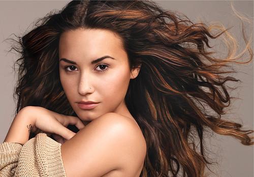 Demi Lovato for Glamour Magazine (December 2011)