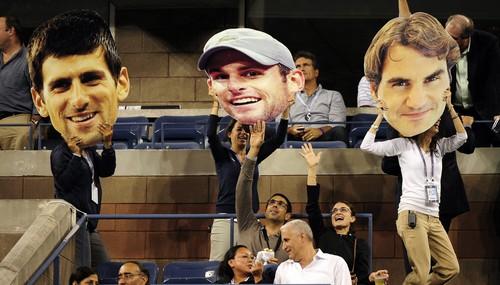 Djokovic Roddick Federer