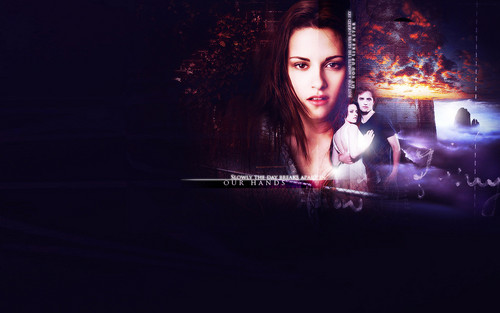 Edward and Bella wallpaper titled Edward and Bella