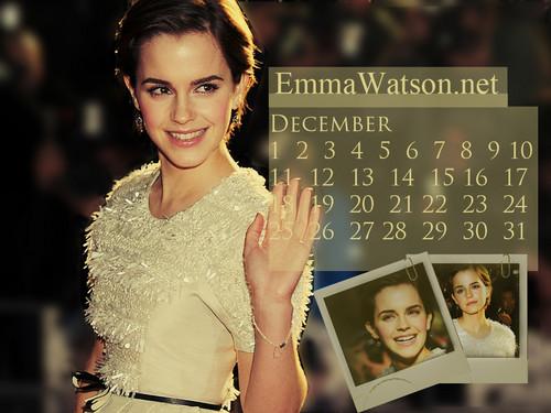 EmmaWatson.net December Calendar
