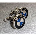 Enamel BMW Cufflinks - bmw photo