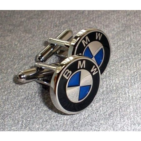 Enamel BMW Cufflinks