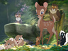Faline happy to see Bambi