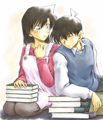 Shinichi Kudo and Ran Mouri wallpaper containing anime called Fan Art