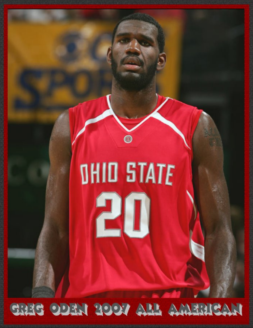 GREG ODEN 2007 ALL AMERICAN