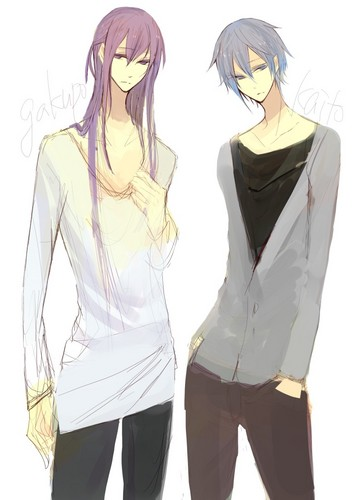 Gakupo and Kaito