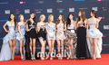 Girls' Generation Mnet Asian musique Awards Red Carpet