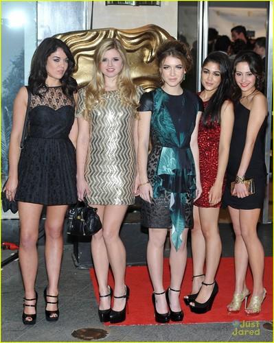 Girls of HOA at BAFTA'S