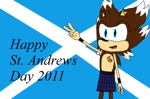 Happy St. Andrews dia 2011