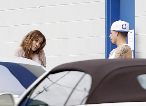 Jennifer Lopez Caught baciare Casper Smart