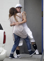 Jennifer Lopez Caught Küssen Casper Smart