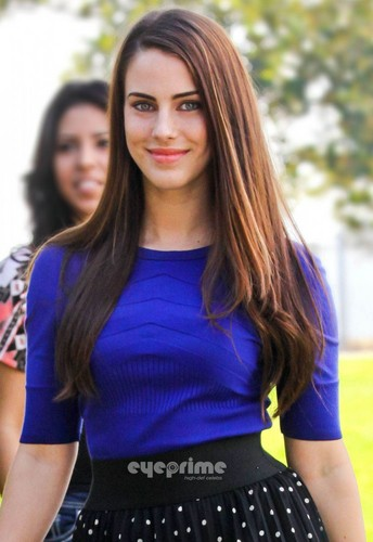 Jessica Lowndes on the Set of 90210 in L.A, Nov 29
