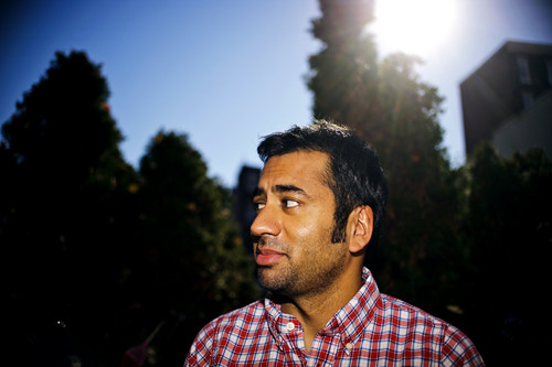 Kal Penn Phototshoot with Matt Roth for The New York Times