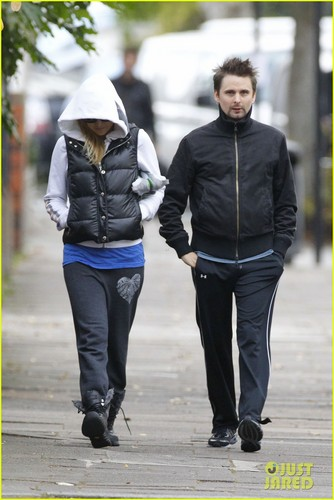 Kate Hudson & Matt Bellamy Work It Out in ロンドン