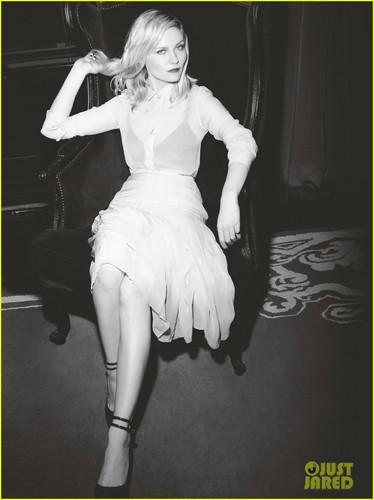 Kirsten Dunst Covers 'C' Magazine December 2011