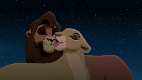 The Lion King 2:Simba's Pride wallpaper titled Kovu and kiara