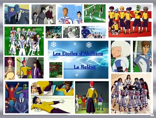Galactik Football پیپر وال probably containing عملی حکمت titled La relève des Snow kids