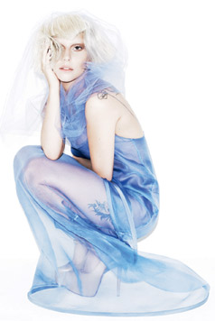 Lady Gaga- Elle photoshoot kwa Matt Irwin