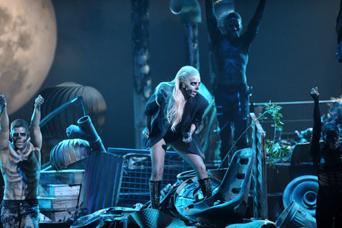 Lady Gaga- Grammy Nominations Concert - Marry The Night
