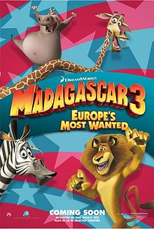 Madagascar 3:Europe's most wanted