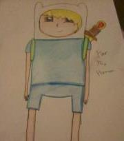 Manga (Emo Art) Finn - adventure-time-with-finn-and-jake Fan Art