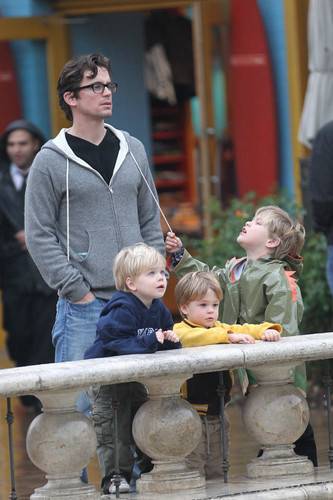 Matt Bomer Is Seen With One Of His Adorable Sons, Remains Swoontastic