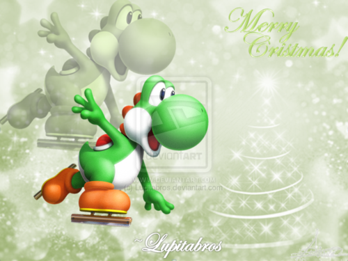 Merry Christmas from Yoshi!